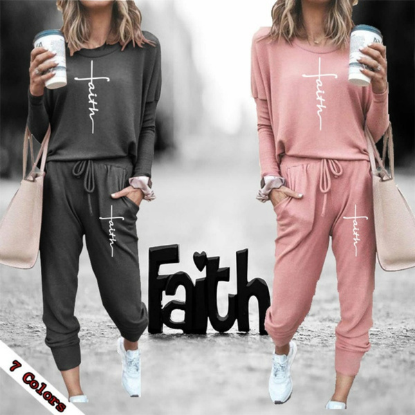 Round neck, Outdoor, casualtracksuit, Spring