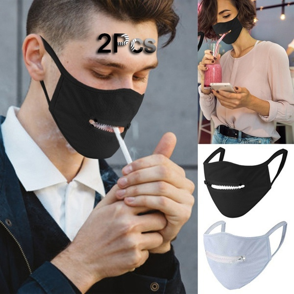 zippermask, mouthmask, zippers, Masks
