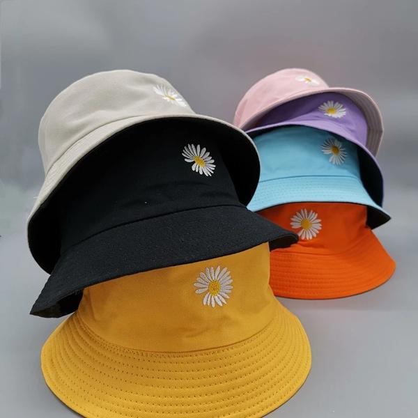 Fashion, daisie, Sun, Cap