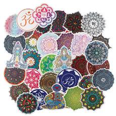 Stickers, mandalasticker, decoration, 3csticker