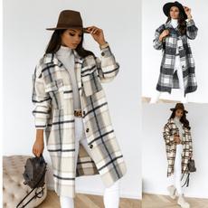 casual coat, woolen coat, Fashion, trenchcoatforwomen