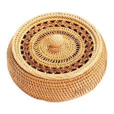 breadbasketsforserving, wovenbasketwithlid, wovenbasket, Kitchen & Dining