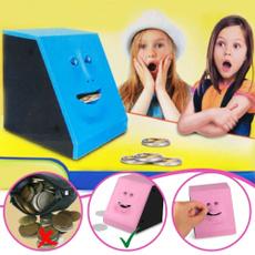 cute, piggybanksforkid, moneyeatingbox, Novelty