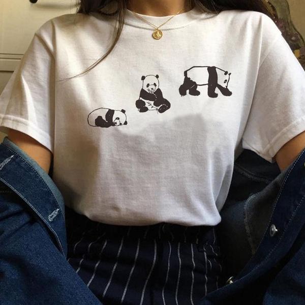 cute, pandashirt, Fashion, Grunge