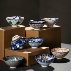 Blues, Traditional, Chinese, Cup
