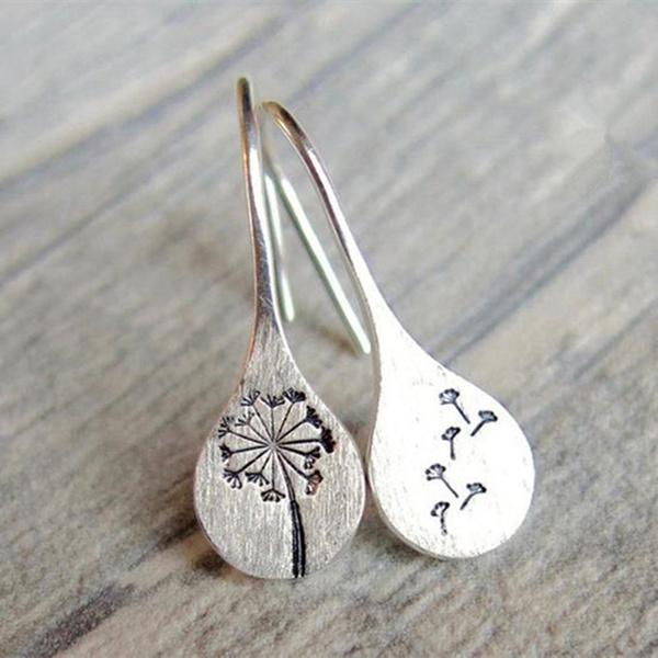 Sterling, Dangle Earring, Gemstone Earrings, Stud Earring