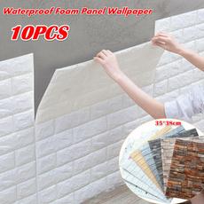 Foam, peel, Waterproof, Stickers