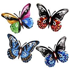backyardmetalbutterflywallhanging, butterfly, Decor, metalbutterflywallhanging