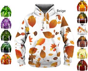 hoodiesformen, Fashion, leaf, printerhoodie