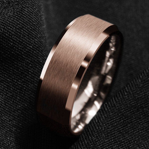 ringsformen, tungstenring, wedding ring, gold