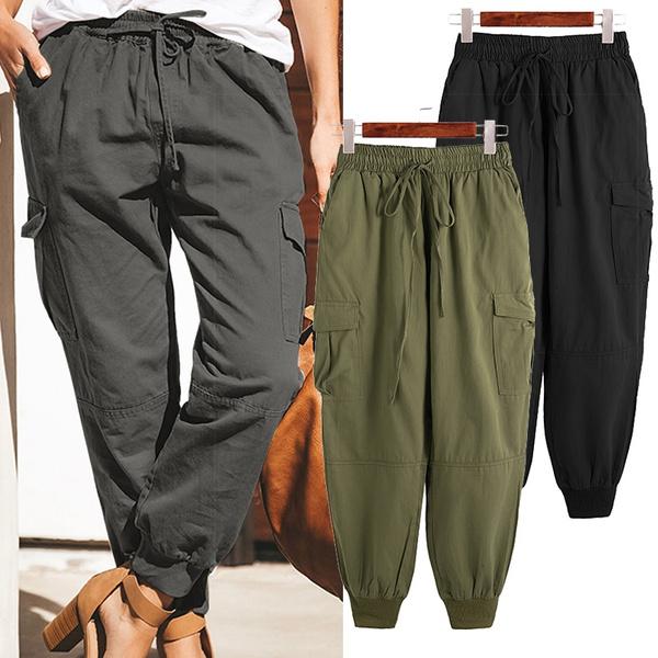 elasticwaistpant, Plus Size, cottonpant, Waist