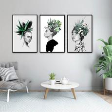 hair, Plants, Shorts, art