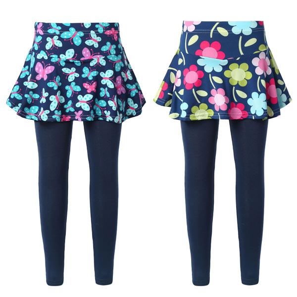pantsattachedskirt, Leggings, Cotton Leggings, cottonpant
