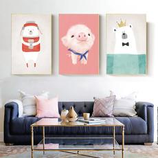 whitebear, art print, Decor, childrensroomdecoration