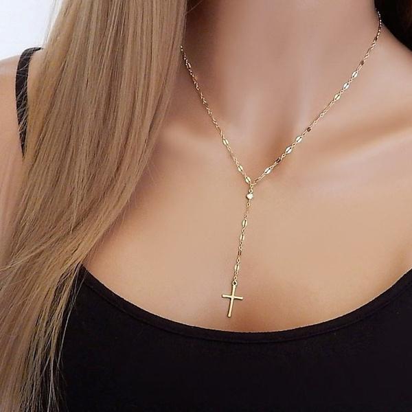 Used, Jewelry, Cross Pendant, Vintage