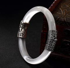 Sterling, eye, Jewelry, jade