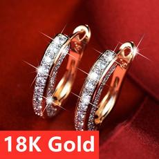 Sterling, Silver Earrings, DIAMOND, Jewelry