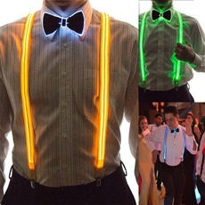 ledbowtie, suspenders, Cosplay, led