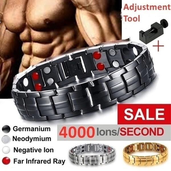 Steel, Fashion, healthbracelet, Jewelry