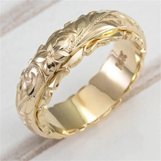 goldplated, Flowers, Jewelry, gold