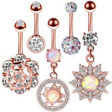 navel rings, Beauty, navelringsforwomen, Stainless Steel