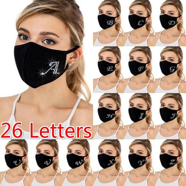 blackmouthmask, Women's Fashion & Accessories, letter print, surgicalmask