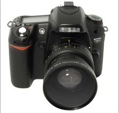 nikoncameralen, 58mm045xlen, canonlen, Camera