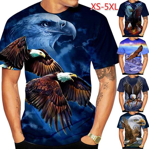 eagleprintedtshirt, animal3dtshirt, 3deagletshirt, Sports & Outdoors