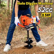 splantingmachine, Garden, 52cc22hpearthauger, gaspoweredholedigger