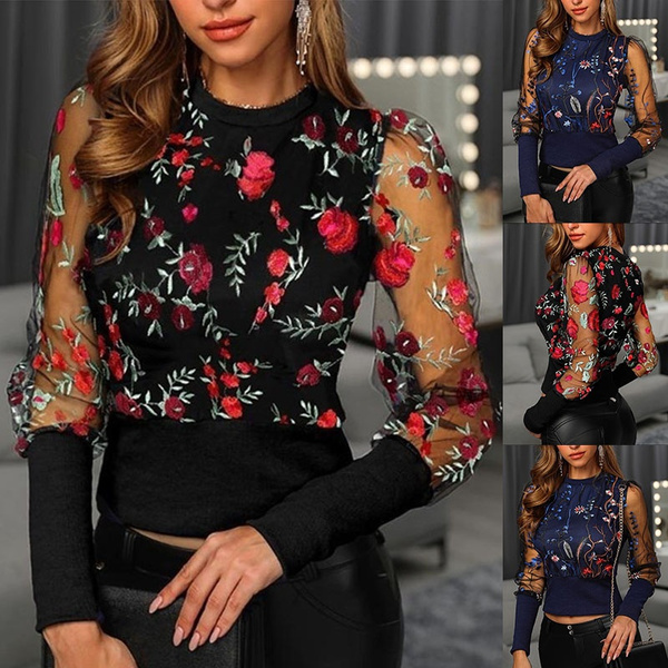 blouse, Fashion, Floral, Lace