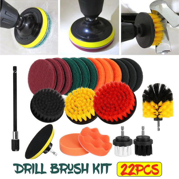 drillbrushattachment, Cleaning Supplies, cleaningbrush, electricdrillbrush