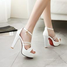 Summer, Womens Shoes, highheelssandalswomen, fish