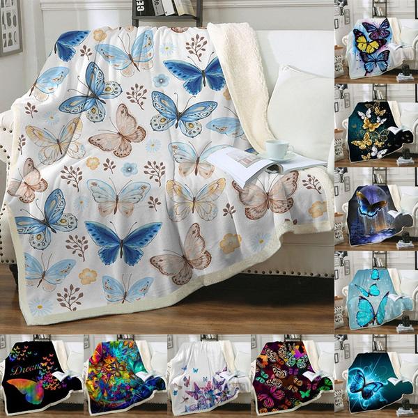 butterfly, 3dprintblanket, warmblanket, cartoonblanket