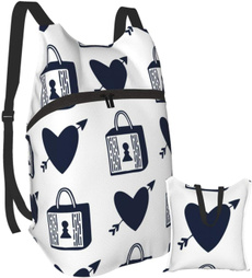 Heart, Fashion, Waterproof, Camping Backpacks