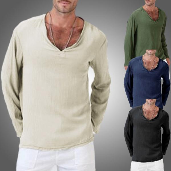 camisamasculina, cardigan, Shirt, Men's Fashion