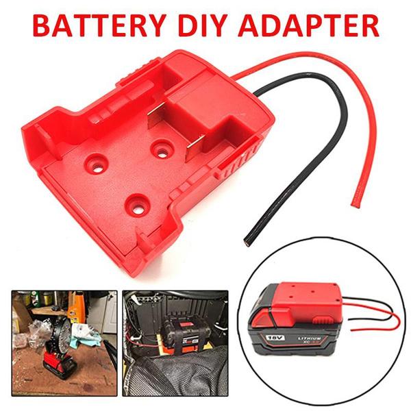 Battery Charger, Battery, Adapter, milwaukeeadapter