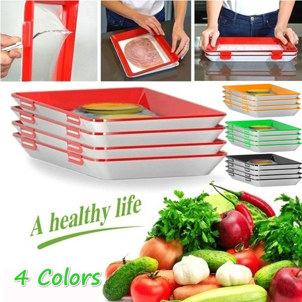 partyfoodplate, foodfreshkeep, foodpreservationtray, Storage