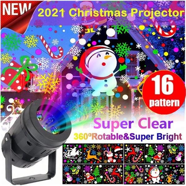 projectionlampchristmasprojectionlamp, Garden, lights, snowflakeprojectionlamp