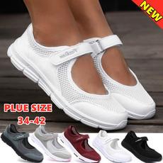 Summer, lightweightshoe, Slip-On, Flats shoes