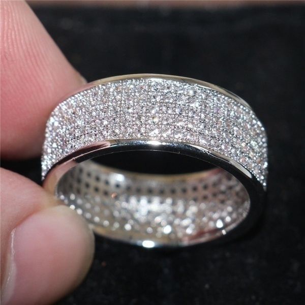 Sterling, Sterling Silver Jewelry, DIAMOND, 925 silver rings