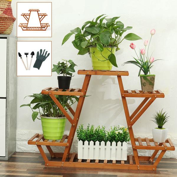 Home & Kitchen, flowerrack, potrack, displayshelf