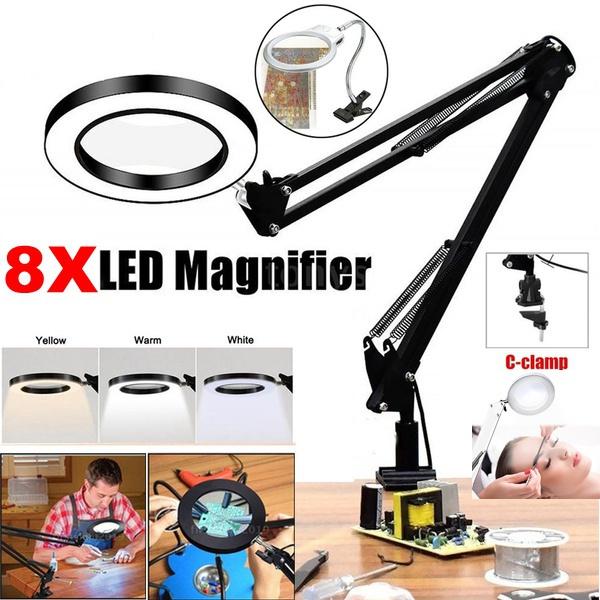 swivel, magnifierlamp, tattoomagnifierlamp, usb