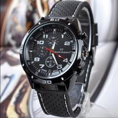 mensportwatche, siliconebandwatch, Silicone, wristwatch