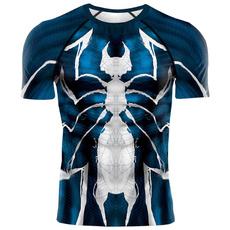 Men, Shirt, Fitness, supermantshirtmen