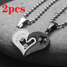 Steel, Stainless, 18kgoldnecklace, Stainless Steel