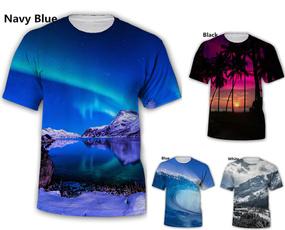 Nature, Tops, short sleeves, Hip Hop