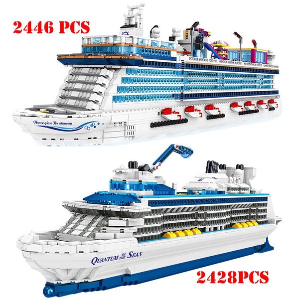Toy, shipmodel, cruiseshipmodel, legoship