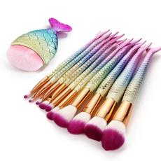 Cosmetic Brush, mermaidmakeupbrush, Cosmetic Brushes, Beauty