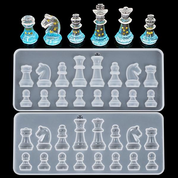 castingmould, chessmold, Silicone, Jewelry