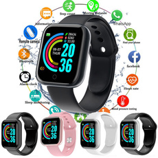 led, Waterproof, Silicone, wristwatch